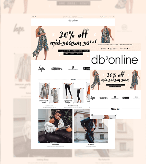 DB3online Portfolio