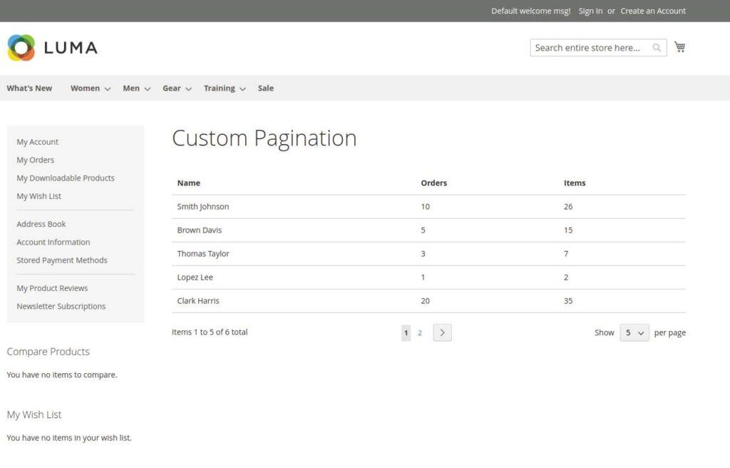 Add Custom Pagination Magento 2